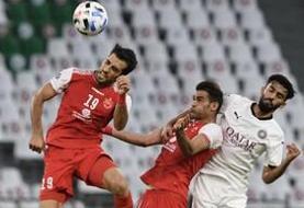 پرسپولیس ۱- ۰ السد/ صعود سرخ پوشان به جمع ۴ تیم نهایی غرب آسیا