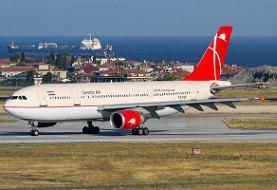 تکذب آتشسوزی موتور هواپیمای پرواز عسلویه به تهران