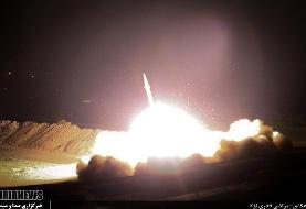 تصویر موشک ایرانی که مقر تروریست ها را نابود کرد /دو عملیات که قدرت سخت ایران را به نمایش گذاشت