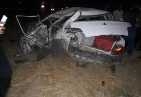 ۳ کشته در تصادف زانتیا و پراید در جاده کهگیلویه و بویراحمد