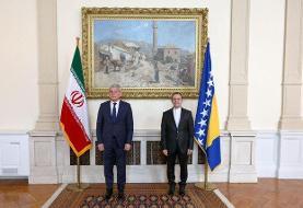 تقدیم استوارنامه سفیر جدید کشورمان به رئیس شورای ریاست جمهوری بوسنی