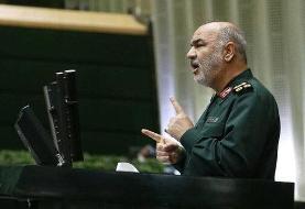 ببینید | سردار سلامی: جنگ منتفی است اما دشمن درپی نفوذ اقتصادی و روانی است