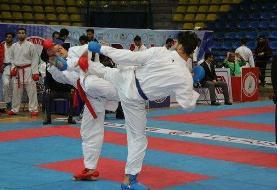 مراسم اختتامیه لیگ های کاراته لغو شد