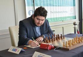 شکست مقصودلو در مسابقات شطرنج سرعتی جوانان جهان