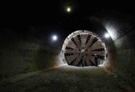 حفاری تونل متـرودر ری شتاب گرفت