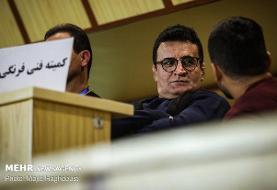 نظارت محمد بنا و حضرتیپور بر پیکارهای لیگ کشتی