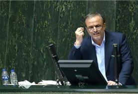 رزم حسینی لباس رزم وزارت بر تن کرد