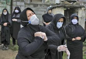 عکس | عزاداری برای قربانیان کرونا در بابل