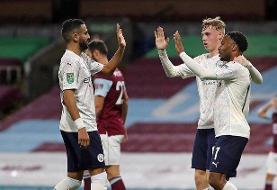 صعود سیتی و یونایتد به یک چهارم نهایی جام اتحادیه