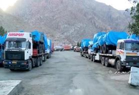 ماجرای انتقال تجهیزات نظامی به مرزهای شمال غربی کشور | حرفهای رانندگان این کامیونها را بشنوید