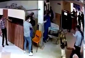 حمله اراذل و اوباش به بیمارستان پورسینا رشت/حال مصدومان خوب است
