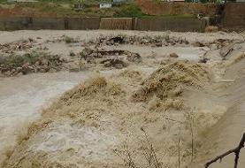 وقوع سیلاب کمسابقه در هرسین