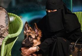 تصاویر | افتتاح اولین کافیشاپ ورود با سگ در عربستان