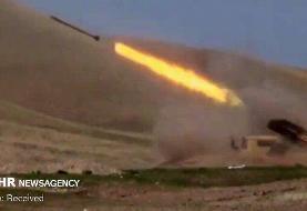 برخورد یک فروند راکت خمپاره به روستای محمدصالحلو خداآفرین