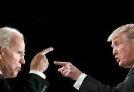 ستاد انتخاباتی بایدن فروش تیشرت «خفه شو مرد» را آغاز کرد