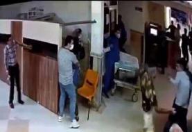 حمله اراذل و اوباش به بیمارستان پورسینا رشت |چند نفر مصدوم شدند