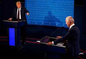 اظهار نظر ترامپ درباره مناظره با بایدن