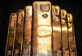 صعود هفتگی طلای جهانی تحت تاثیر ریزش دلار