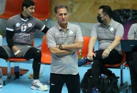 ناصر شهنازی سرمربی تیم والیبال سایپا شد