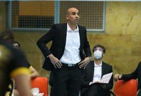 محمدیراد: آذرباتری را دست کم نگرفتیم/ نفرزاده: بازیکنانم جنگیدند