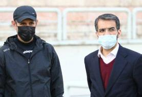 غیبت مدیرعامل پرسپولیس برای حمایت گلمحمدی