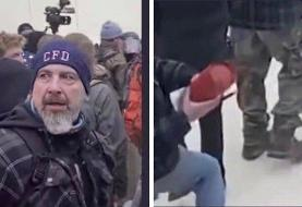 Capitol riot: Police release photos of man wanted in connection with killing of officer