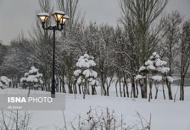 بارش برف و باران در استانهای غربی/سفرهای غیرضروری را لغو کنید