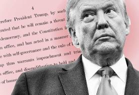 دونالد ترامپ نخستین رئیسجمهور آمریکا شد که دوبار استیضاح شده است