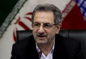 استاندار تهران: هیچ نقطهای از تهران شاخص آلایندگی ۵۰۰ نداشته است