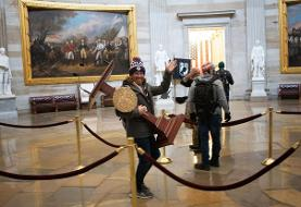 Capitol rioter pictured with Pelosi lectern promises not to return to DC as lawyer says only a ...