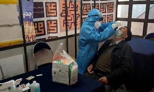 تست رایگان کرونا برای مسافران مترو تهران