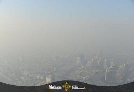 تصاویر هوایی از تهرانِ بسیار آلوده | شهر خاکستری و مسموم