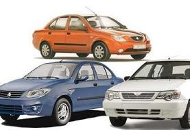قیمت خودروهای سایپا، پراید و تیبا ۲۵ دی ۹۹