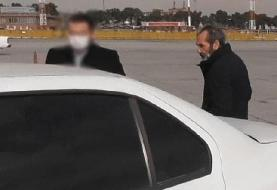 (تصاویر) «عماد ادوارد شرقی» معاون بینالملل هولدینگ سرآوا دستگیر شد