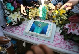آرزوی فکری هنگام بریدن کیک تولدش/ دو قهرمانی وسومین ستاره آسیایی
