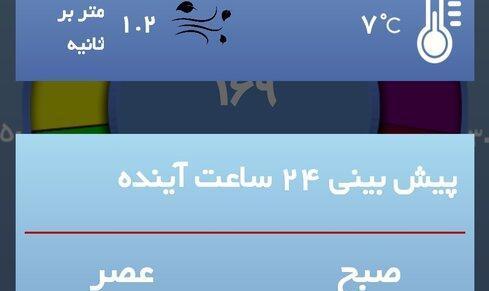غروب خفهکننده پنجشنبه ۲۵ دی ۱۳۹۹   هوای تهران همچنان در وضعیت قرمز