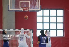 تداوم صدرنشینی پالایش نفت آبادان در لیگ بسکتبال زنان