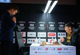 فیروزجا- کارلسن؛ اولین رقابت در مسابقات حضوری تاتا استیل