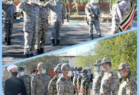 بازدید فرمانده کل ارتش از گروه پدافند هوایی چابهار