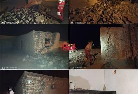 خسارت به ۸۰ روستا در زلزله هرمزگان (+عکس)