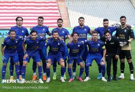 ترکیب تیم فوتبال استقلال برای دیدار با تراکتور اعلام شد