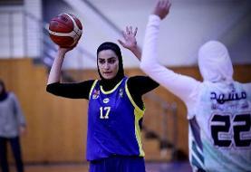 تیمهای مهرام و گروه بهمن فینالیست لیگ بسکتبال بانوان شدند