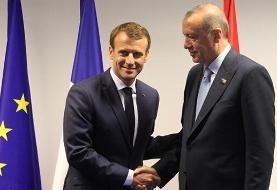 مکرون خواهان بهبود روابط فرانسه با ترکیه شد