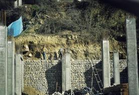 (تصاویر) افزایش ساخت و سازهای غیرقانونی در زیارت