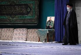 دومین شب عزاداری ایام فاطمیه در حسینیه امام خمینی + عکس