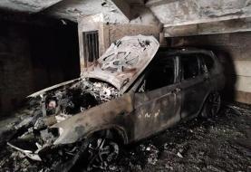 نجات ۲۵ نفر از مجتمع آتش گرفته در تهران