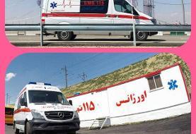 مراجعه ٨٣٠ نفر به آمبولانس های مستقر در پایتخت طی ۱۰ روز آلودگی هوا
