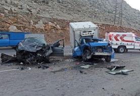 دو کشته و چهار زخمی در تصادف جاده روانسر