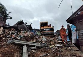 بیش از ۸۷۰ کشته و زخمی در زلزله اندونزی