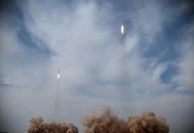 موشکهای ایرانی در یکصد مایلی ناو آمریکایی فرود آمدند